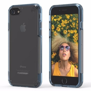 Estuche Puregear Slim Shell Pro iPhone 7 - Borde Azul