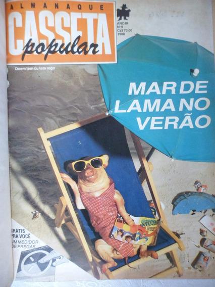 Coleção Casseta Popular 16 Exemplares Anos 1986/87/88