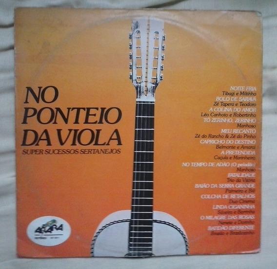 Lp No Ponteio Da Viola Sertanejo Belmonte Silveira Barrinha