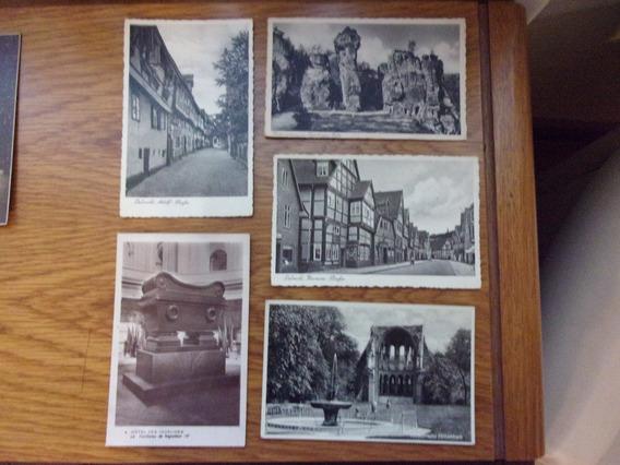 Tarjetas Postales Europeas En Negro 29 Tarjetas