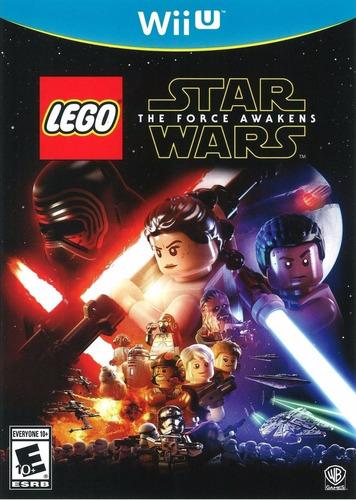 Lego Star Wars The Force Awakens - Juegos Wii U [como Nuevo]