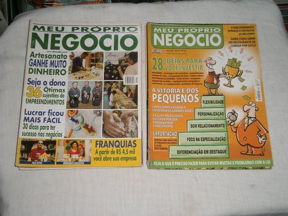Meu Proprio Negocio E Cia Pacote C/ 11 Revistas R$ 20,00