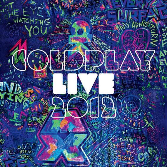 Coldplay Live 2012 Cd+dvd Nuevo Sellado Open Music W-