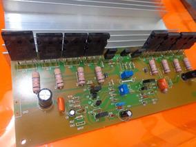 Amplificador 500w Semi Montado/ Gradiente 166-246/366/1660