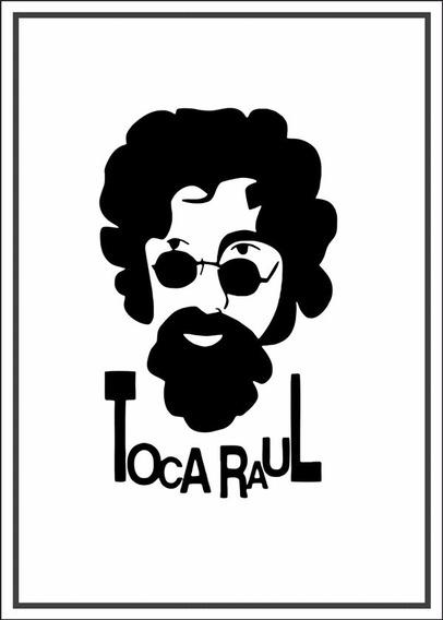 Poster Raul Seixas 60x84cm Enfeite Para Casa Rock Nacional