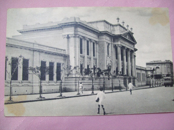 Postal Bahia Blanca Argentina Circulada Escuela Centenario