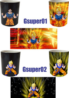 Taza Mágica Dragon Ball