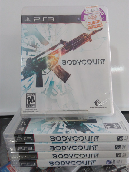 Bodycount Playstation 3 Lacrado Blus 30562