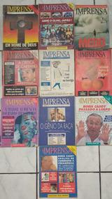 Revista Imprensa Lote Com 11 Unidades Frete Grátis