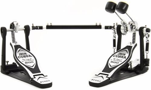 Imagen 1 de 6 de Pedal De Bombo Doble Tama Iron Cobra Hp600 Dtw Cadena Doble