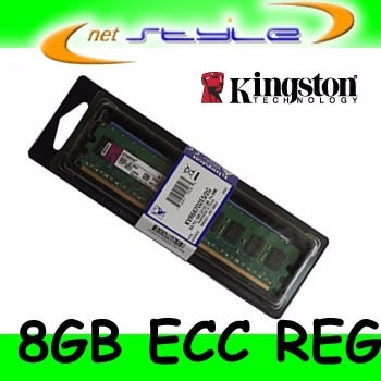 Kingston 8gb 1600mhz Reg Ecc Kth-pl316lv/8g P/ Hp Server