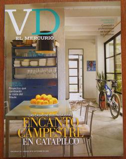 Revista Vd El Mercurio Setembro/2010 Arquitetura Decoração