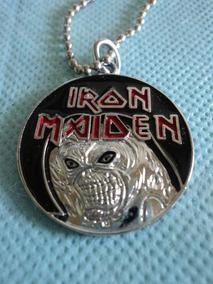 Colar:cordão:iron Maiden:metal:rock