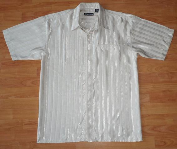 Montique Camisa De Vestir Talla Extra Grande