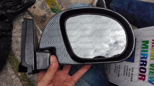 Imagen 1 de 5 de Espejos Retrovisores Deportivos Escualizables Carbono X 2