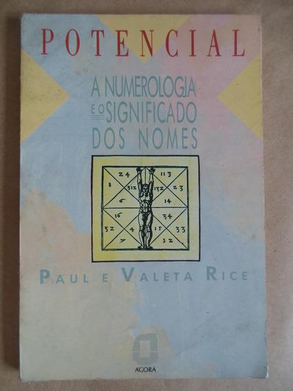 Potencial Significado Dos Nomes Na Numerologia = Paul Valeta