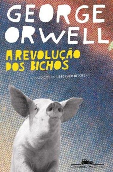 Livro A Revolução Dos Bichos George Orwell Pronta Entrega
