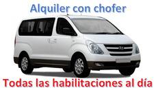Alquiler Camioneta Hyundai H1 Con Chofer