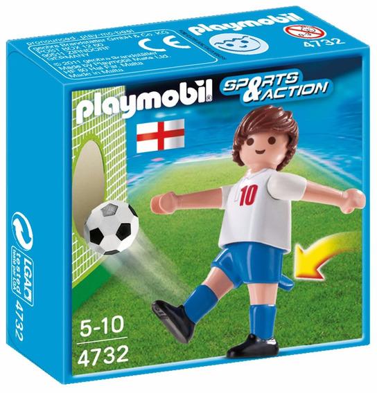 Figura Playmobil Esportes E Ação Jogador Inglaterra 4732