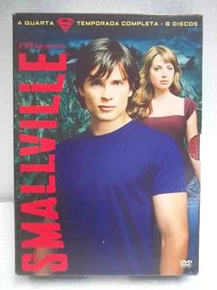 Smallville 4a. Temporada Box 6 Dvd´s Original Frete 15,00