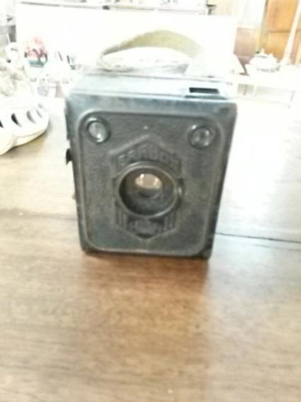 Câmera Fotográfica Antiga Erabox Zeiss Ikon