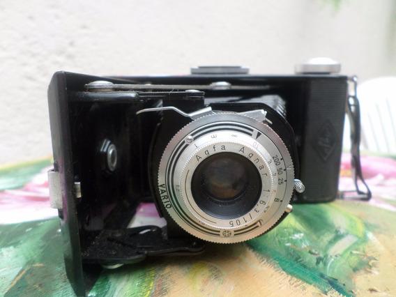 Maquina De Fotografia Agfa-billy - Rarissima- Anos 30