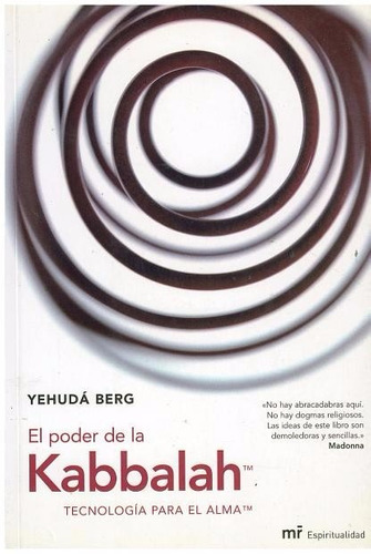 Libro, El Poder De La Kabbalah De Yehudá Berg. - Bs. 14