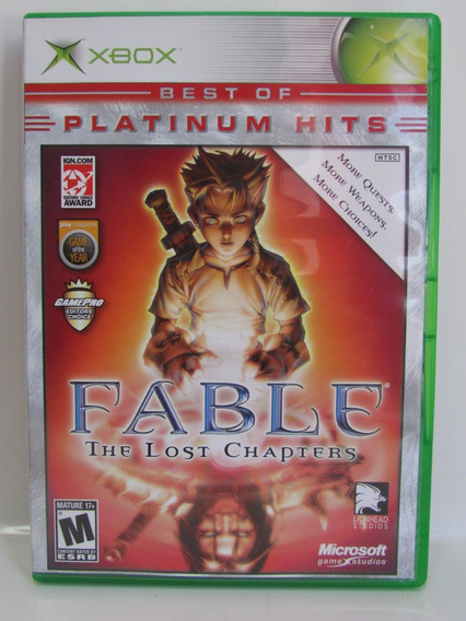 Fable - Game Xbox Clássico Original Americano