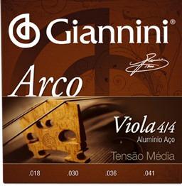 Encordoamento Giannini Para Viola De Arco Geavoa