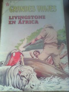 Livingstone En África En Grandes Viajes No.8 Tamaño Grande