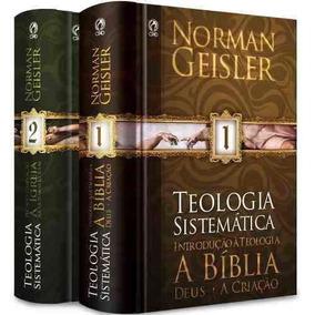 Teologia Sistemática De Norman Geisler Frete Grátis