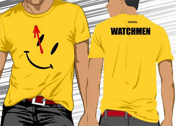 Camisa Camiseta Watchmen #frete Grátis#