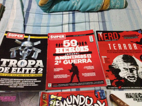 Revistas Mundo Estranho,canibal,nerd,super Interessante