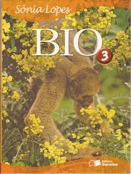 Livro Biologia Sonia Lopes 3ºano 1ªed Frete Grátis