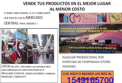 Alquiler Locales Mercado Central Todo Los Rubros Oportunidad