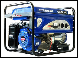 Generador Electrico Guerrero Gg 6000 6kva Gg6kva Motovega