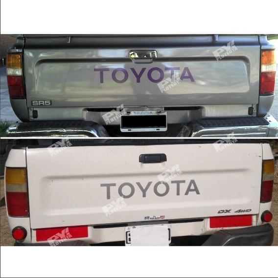 Calco Toyota De Porton Hilux Calcomania Ploteoya! Sr5 Srv Dx
