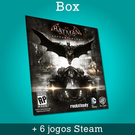 Box Batman Arkham Knight + 6 Jogos Steam - Entrega Imediata