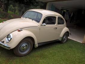 Volkswagen Fusca 71 Bege +90% Original - Aceito Propostas