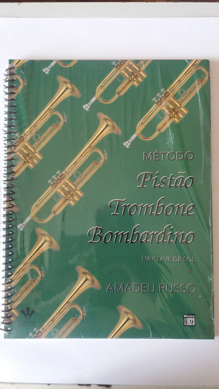 Método Para Trompete Trombone Bombardino Amadeu Russo
