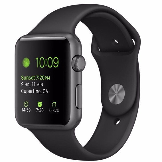 Apple Watch Sport Series 3 42mm Preto Seminovo Garantia Nf