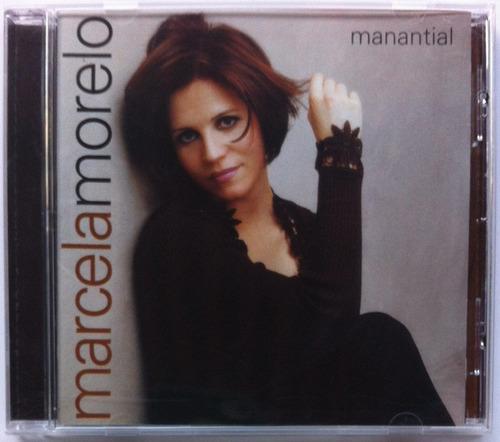 Marcela Morelo. Manantial. Cd Original, Nuevo