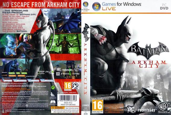 Jogo Batman Arkham City Para Pc (usado)
