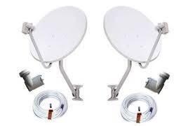 Instalaçoes De Antenas Banda Ku 2 Unidades