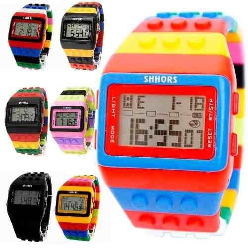Reloj Originales Shhors, Led, Sumergible, Disponible Colores
