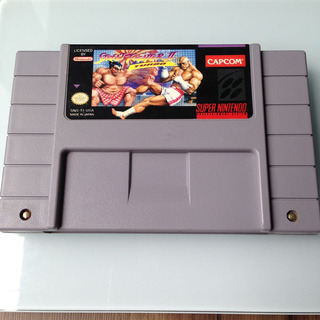 Cartucho Street Fighter 2 Turbo Original - Super Nintendo