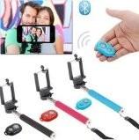 Pau Bastão De Selfie Monopod + Controle Bluetooth