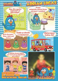 Convite Galinha Pintadinha Em Quadrinhos