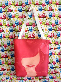 Mini Tote Bag Cartera De La Sirenita Ariel Disney