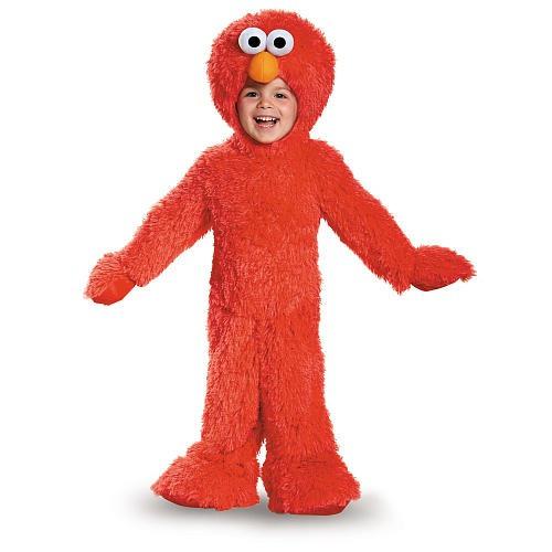 Disfraz De Sesame Street Deluxe Plush Traje - Elmo